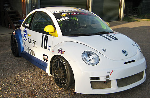 Beetle's new colour scheme