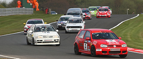 Martin in Barrie's Vento at Oulton Park 2009