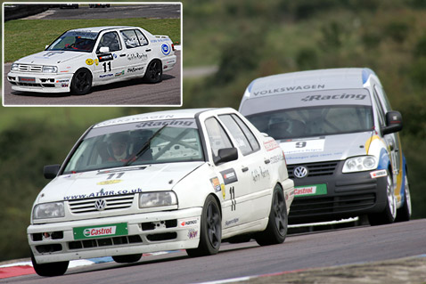 Volkswagen Vento 2.8 VR6 driven by Barrie Culley.
